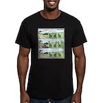 Giraffes necks Car T-Shirt