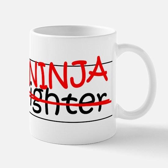 Job Ninja Firefighter Mug