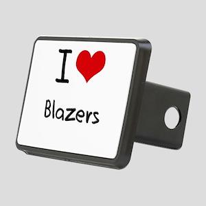 I Love Blazers Hitch Cover
