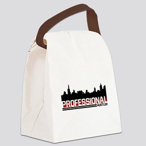 Professional Black1 Canvas Lunch Bag