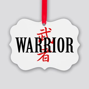 Warrior Asian Ornament