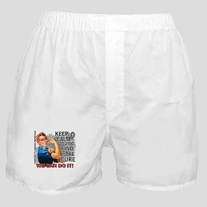 Rosie Keep Calm Parkinsons Boxer Shorts