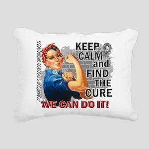 Rosie Keep Calm Parkinsons Rectangular Canvas Pill