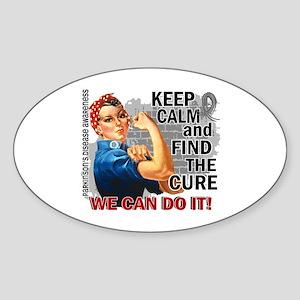 Rosie Keep Calm Parkinsons Sticker (Oval)