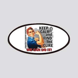 Rosie Keep Calm Parkinsons Patches