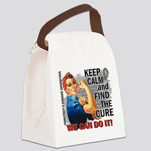 Rosie Keep Calm Parkinsons Canvas Lunch Bag