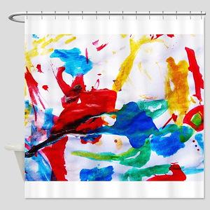 777km/s Shower Curtain