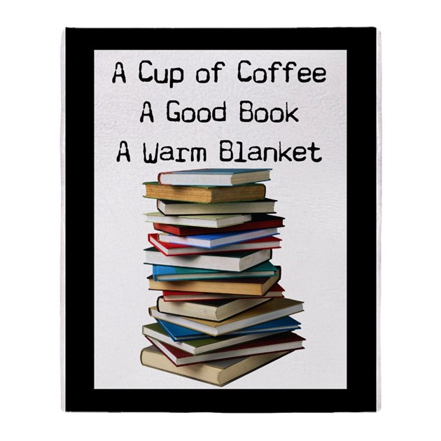 Book Lovers Blanket 40 Throw Blanket By GailGabel Amazing Book Lovers Throw Blanket