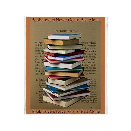 Book Lovers Blanket 2 Throw Blanket