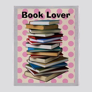 Book lover blanket 5 Throw Blanket