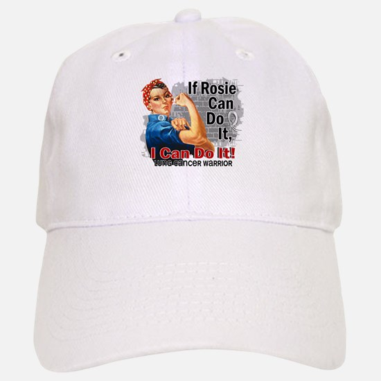 If Rosie Can Do It Lung Cancer Baseball Baseball Cap