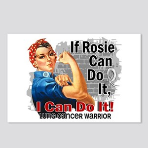 If Rosie Can Do It Lung Cancer Postcards (Package