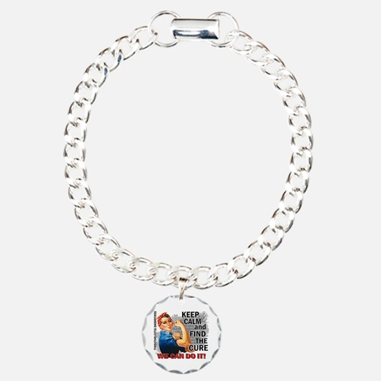 Rosie Keep Calm Mesothelioma Bracelet