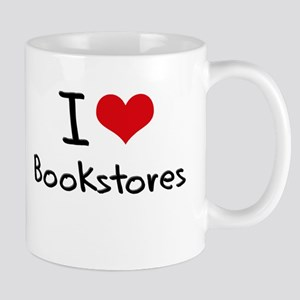 I Love Bookstores Mug
