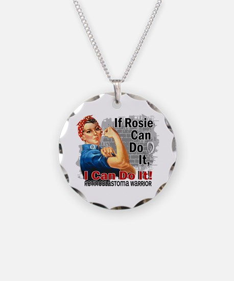 If Rosie Can Do It Retinoblastoma Necklace