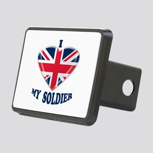I Heart my UK Soldier Hitch Cover