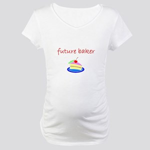 future baker Maternity T-Shirt
