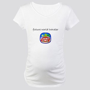 future world traveler Maternity T-Shirt