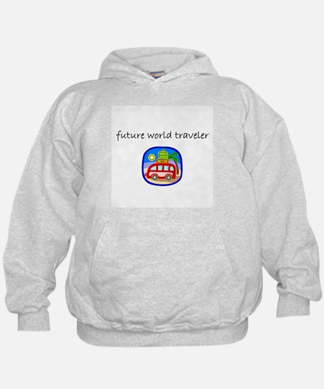 future world traveler.bmp Hoodie