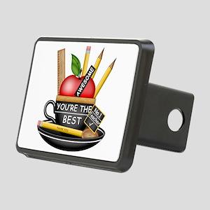 Teachers Apple Teacup Hitch Cover