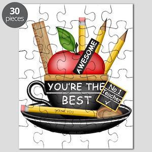 Teachers Apple Teacup Puzzle