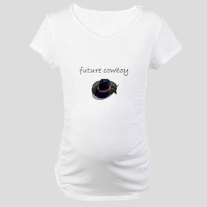 future cowboy Maternity T-Shirt