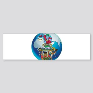 Captain Planet Bumper Sticker