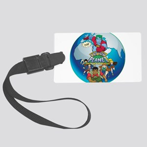 Captain Planet Luggage Tag