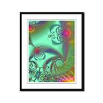 Jeweled Staircase, Kaleidoscope Framed Panel Print