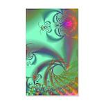 Jeweled Staircase, Kaleidoscope 35x21 Wall Decal