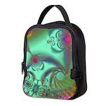 Jeweled Staircase, Kaleidoscope Neoprene Lunch Bag