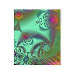 Jeweled Staircase, Kaleidoscope Throw Blanket