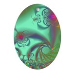 Jeweled Staircase, Kaleidoscope Ornament (Oval)