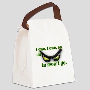 I OWE I OWE so off to mow I go green w/grass Canva