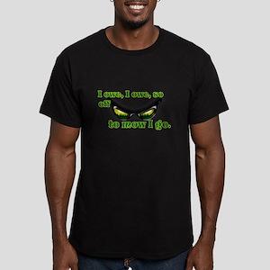 I OWE I OWE so off to mow I go green w/grass T-Shi
