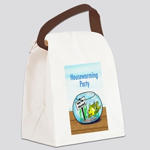 We Moved housewarming party Canvas Lunch Bag