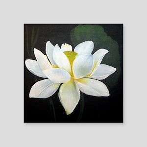 Lotus Blossom in Dark Sticker