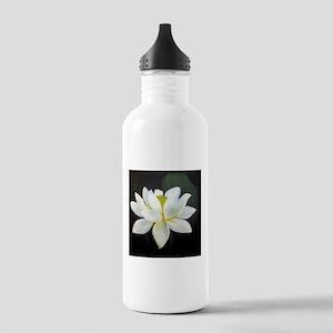 Lotus Blossom in Dark Water Bottle