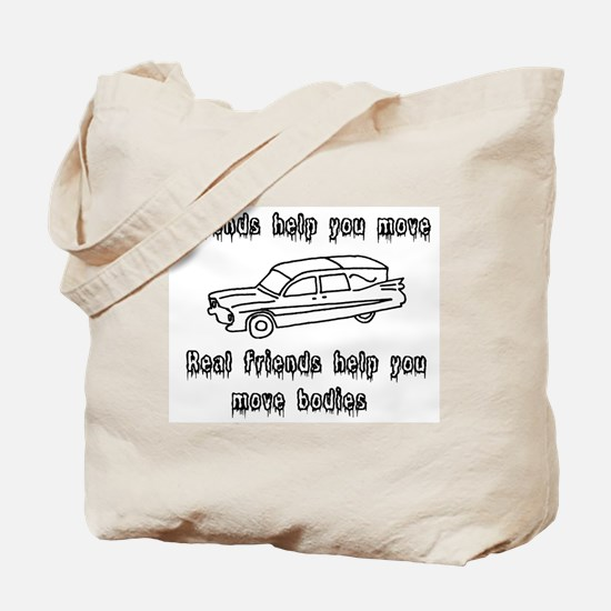 Hearses and friends Tote Bag