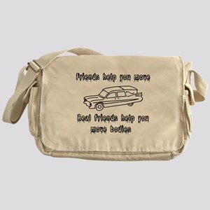 Hearses and friends Messenger Bag