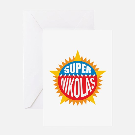 Super Nikolas Greeting Card
