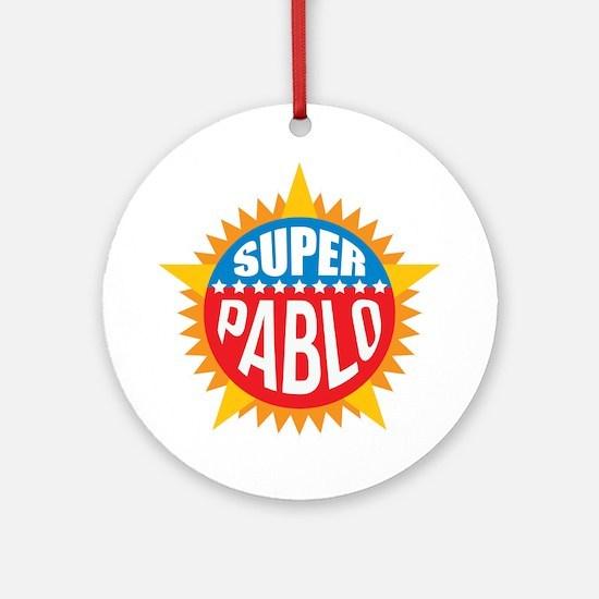 Super Pablo Ornament (Round)