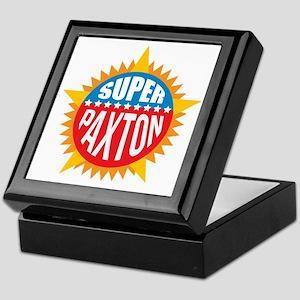 Super Paxton Keepsake Box