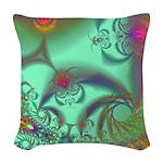 Jeweled Staircase, Kaleidoscope Woven Throw Pillow