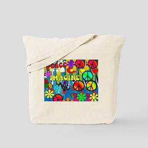 Peace ART HORIZONTAL Tote Bag