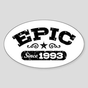 Epic Since 1993 Sticker (Oval)