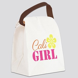 Cali Girl Canvas Lunch Bag