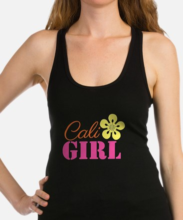 Cali Girl Racerback Tank Top