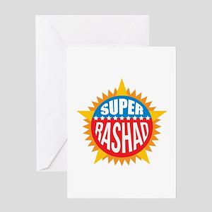 Super Rashad Greeting Card