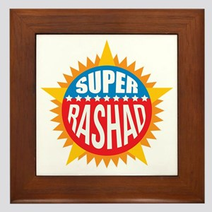 Super Rashad Framed Tile